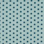 Sterne petrol auf hellblau