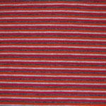 Streifen rot-orange-grau