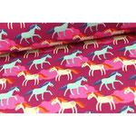 Pferde auf pink