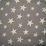 beige Chalk Sterne auf braun