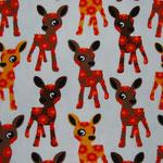 Bambi auf weiss
