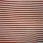 Streifen orange-weiss