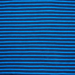 StreifenTürkis dunkelblau