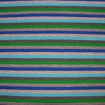 Streifen hellblau-grün-anthrazit-grau-blau