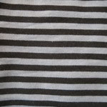 Streifen grau schwarz