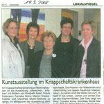 Pressebericht Kunstweg Knappschaft