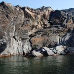 Die Vulkaninsel Neo Kameni