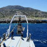 Le sous-marin télécommandé. Crédit : Vasilis Mentogianis
