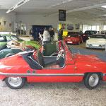 Teile des Opel-Showrooms wurden mitgenutzt - eine nette Geste des Veranstalters!