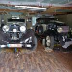 idyllische Garage....