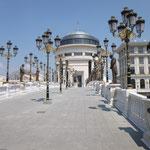 Le Pont des Arts de Skopje
