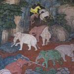 Détail des fresques du Wat suthat