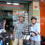 Contents de quitter Saïgon