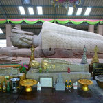 le bouddha de Dhammachakra Sema Ram, 8ème siècle