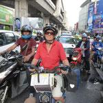 Dans bangkok, un dimanche après-midi