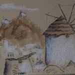 Les moulins de Ios