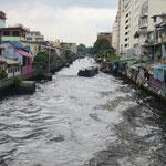 Les klongs ou canaux de Bangkok