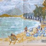 La plage de Manao, à Prachuap, par Fred