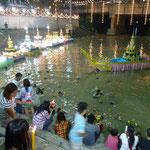 La fête de l'eau à Saraburi