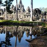 Le Bayon aux 173 têtes de bouddhas