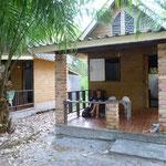 les bungalows de la Buffalo bay à Kho Phayam