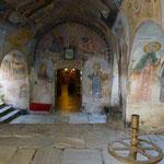 Fresques du monastère de Bachkovo