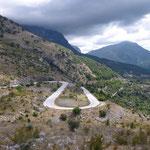 La route de Igoumenitsa
