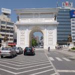 L'arc de triomphe de Skopje