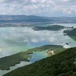 Arrivée sur Ioannina et son lac