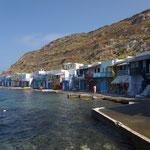 Petit port de Klima sur Milo
