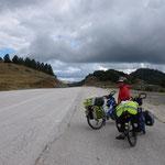 Le plus haut col de Grèce, à 1700 m
