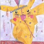 Pikachu beim Karnevall