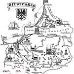 Übersichtskarte Ostpreußen