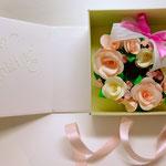 ミニリース ピンク(BOX付き)