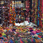 Colorful hand made jewelry.