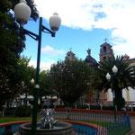 Der Plazoleta González Suárez mit der Kirche El Jordán.