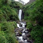 Die Cascada de Peguche.