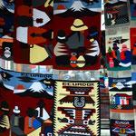 Teppiche im Ecuador Design.