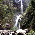 Die Cascada de Taxopamba.