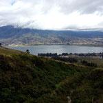 Nochmals der Lago San Pablo von oben.