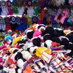 Samstagsmarkt am Plaza de Ponchos.