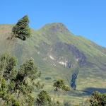 Das Herz im Vulkan Imbabura.