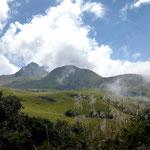 Der Vulkan Fuya Fuya (4.286m).