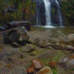 Die Cascada de Taxopamba aus anderer Perspektive.