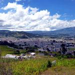 Otavalo from afar.
