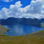 Die Laguna de Mojanda (3.735m).