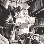 Betriebsspionage, Aquarell, 2009
