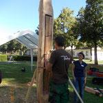 Projekt Klangsklulptur ZFP Reichenau