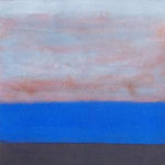 atmosphere, acryl on paper 17x23cm 2009