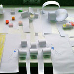 mit Papier gestalten, creating with paper